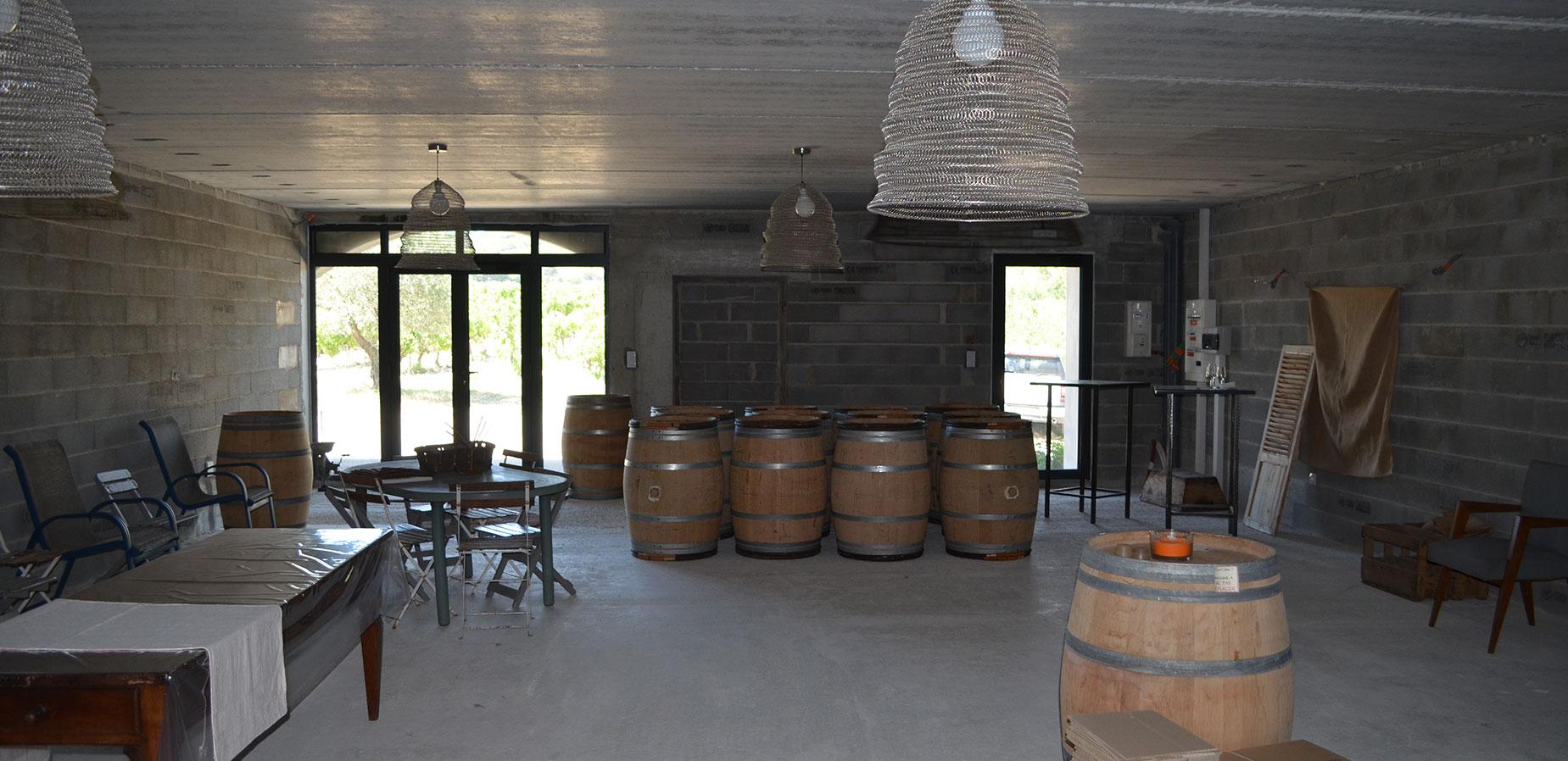 Изба Домейн Вало - интериор
