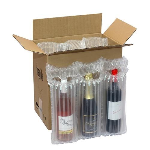 Предпазна въздушна опаковка за бутилки