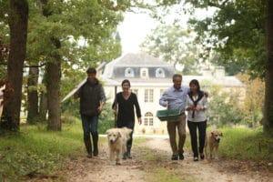 Xavier Milhade family